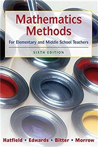 Download Mathematics Methods for Elementary and Middle School Teachers ePub
