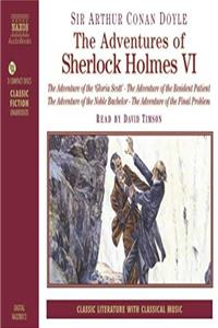 Download Adventures of Sherlock Holmes, Vol. 6: The Adventure of the Gloria Scott / The Adventure of the Resident Patient / The Adventure of the Noble Bachelor / The Adventure of the Final Problem ePub