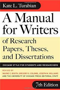 Download A Manual for Writers of Research Papers, Theses, and Dissertations, Seventh Edition: Chicago Style for Students and Researchers (Chicago Guides to Writing, Editing, and Publishing) ePub