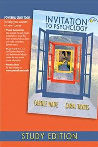 Download Invitation to Psychology, Study Edition (3rd Edition) ePub