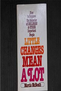 Download Little Changes Mean a Lot (A Spectrum book) ePub