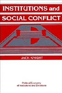 Download Institutions and Social Conflict (Political Economy of Institutions and Decisions) ePub