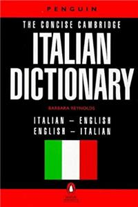 Download The Concise Cambridge Italian Dictionary (Reference) (Italian Edition) ePub