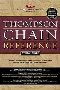 Download The Thompson Chain Reference Study Bible: New King James Version, Burgundy ePub
