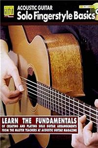 Download Acoustic Guitar Solo Fingerstyle Basics: Book with Online Audio (Acoustic Guitar Private Lessons) ePub