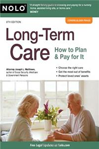 Download Long-Term Care: How to Plan  Pay for It ePub