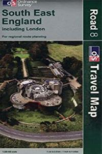 Download England South East incl. London 1:250,000 (OS Road Map #8) (OS Travel Map - Road Map) ePub