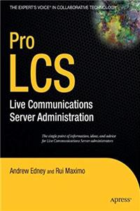 Download Pro LCS: Live Communications Server  Administration ePub