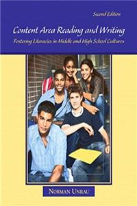 Download Content Area Reading and Writing: Fostering Literacies in Middle and High School Cultures (2nd Edition) ePub
