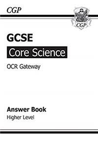 Download GCSE Core Science OCR Gateway Answers (for Workbook) - Higher ePub