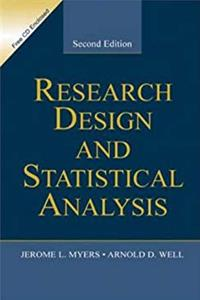 Download Research Design  Statistical Analysis ePub