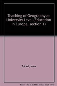 Download Teaching of Geography at University Level (Education in Europe : section 1, Higher education and research) ePub
