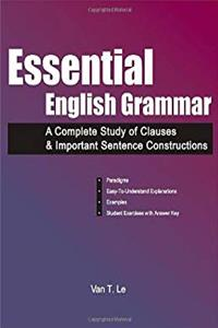 Download Essential English Grammar: A Complete Study of Clauses  Important Sentence Constructions ePub
