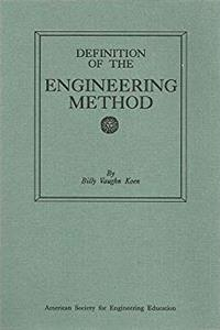 Download Definition of the Engineering Method ePub