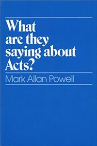 Download What Are They Saying About Acts? ePub