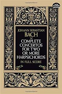 Download Complete Concertos for Two or More Harpsichords in Full Score (Dover Music Scores) ePub