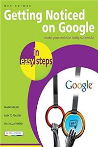 Download Getting Noticed on Google in easy steps ePub