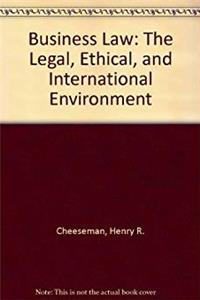 Download Business Law: The Legal, Ethical, and International Environment ePub