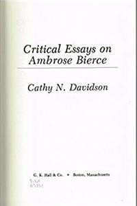 Download Critical essays on Ambrose Bierce (Critical essays on American literature) ePub
