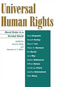 Download Universal Human Rights: Moral Order in a Divided World (Philosophy and the Global Context) ePub