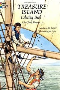 Download Treasure Island Coloring Book (Dover Classic Stories Coloring Book) ePub
