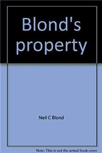 Download Blond's property (Blond's law guides) ePub